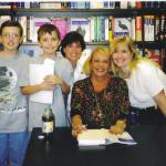 2002 in Freehold, NJ  My sons, my dear friend Pam, and me with Sylvia Browne!