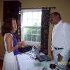 Jonette Crowley and Calvin (the audio professional)
