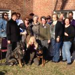 Class held at Luca's K9 Playhouse Group pic Day one